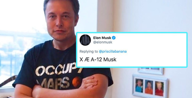 """Elon Musk giải thích cách phát âm tên con trai """"X Æ A-12"""", hóa ra lại đơn giản đến bất ngờ - Ảnh 1."""