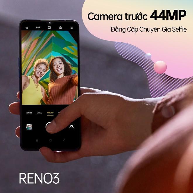 OPPO Reno3 và Reno3 Pro ra mắt tại VN: Tập trung vào camera, giá từ 8.99 triệu, đặt trước nhận ốp lưng giới hạn - Ảnh 5.