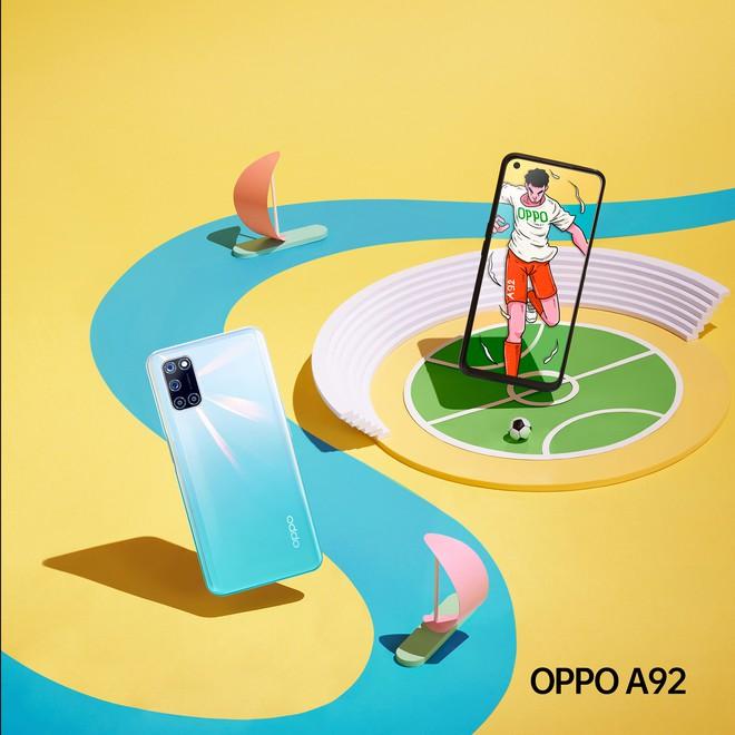 OPPO A92 ra mắt tại VN: Snapdragon 665, 4 camera 48MP, pin 5000mAh, giá 6.99 triệu đồng - Ảnh 3.