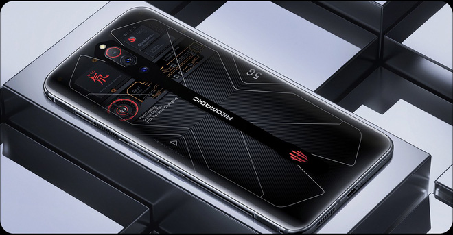 Nubia Red Magic 5G có thêm phiên bản mặt lưng trong suốt, 16GB RAM, giá 17 triệu đồng - Ảnh 1.