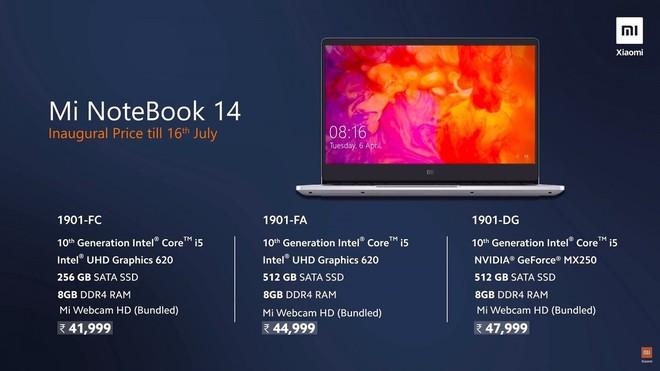 Xiaomi Mi Notebook 14 ra mắt: Core i5/i7 thế hệ 10, Nvidia GeForce MX250/MX350, pin 10 giờ, giá từ 13 triệu đồng - Ảnh 4.