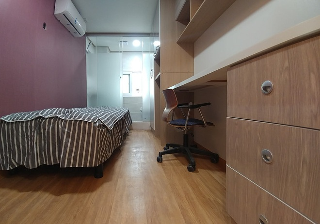 Những căn phòng tí hon chỉ 3 - 6m² nhưng chẳng thiếu thứ gì ở Hàn Quốc và Nhật Bản: Xu hướng thiết thực và được ưa chuộng của giới trẻ - Ảnh 14.