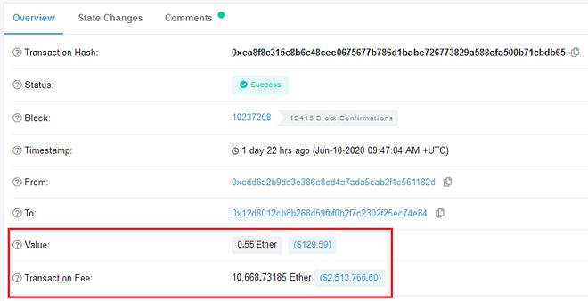 Sơ suất khi chuyển tiền mã hóa, người dùng bị tính phí 2,5 triệu USD để chuyển 133 USD - Ảnh 2.