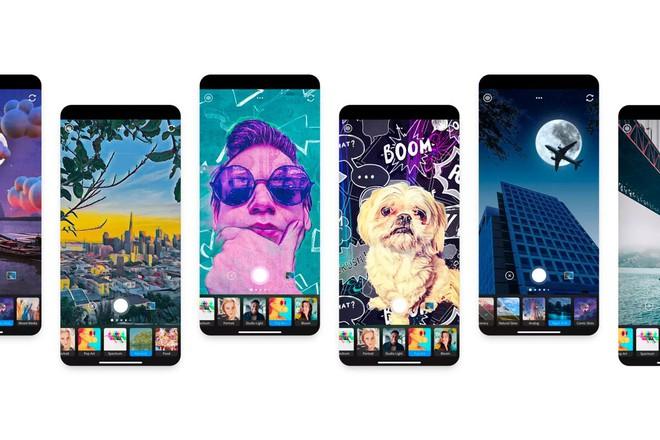 Adobe ra mắt ứng dụng Photoshop Camera, miễn phí trên iOS và Android, tích hợp nhiều filter ấn tượng - Ảnh 1.