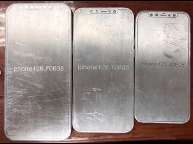 Lộ diện khuôn mẫu toàn bộ dòng iPhone 12, các cạnh phẳng tương tự iPad Pro mới - Ảnh 1.