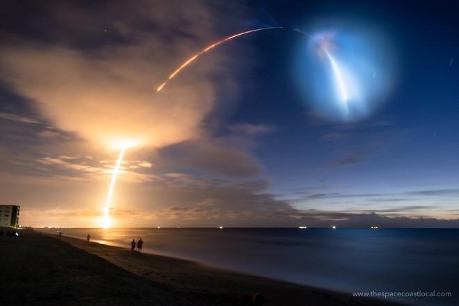 Màn phóng tàu thành công của SpaceX gây ra mây dạ quang - hiện tượng thiên nhiên hiếm gặp và đẹp mê hồn - Ảnh 1.