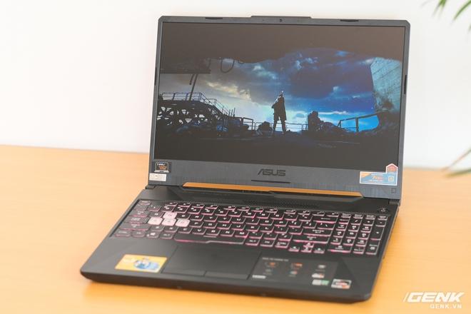Cận cảnh laptop TUF Gaming A15: logo mới ngầu hơn, chạy AMD Ryzen 4600H và GTX1650, giá nhỉnh hơn 20 triệu đồng - Ảnh 6.
