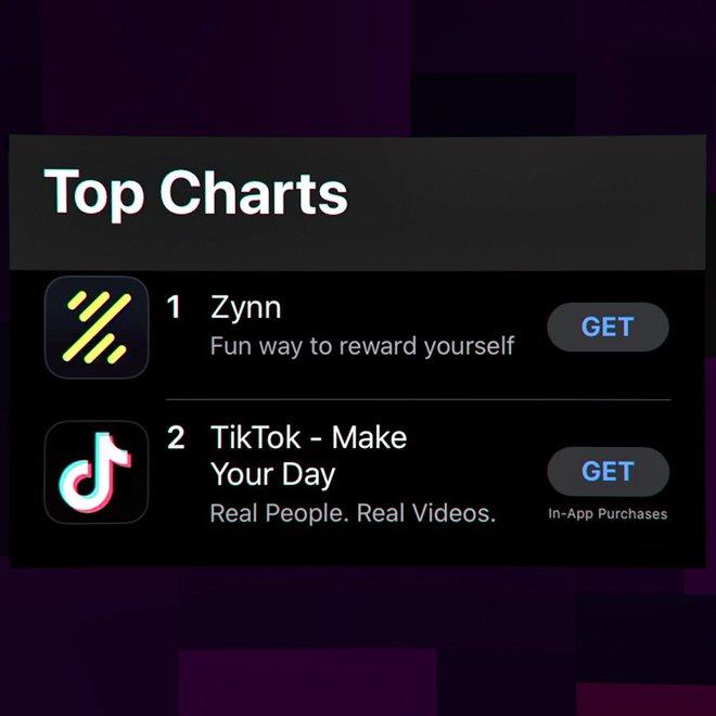 Ứng dụng nhái TikTok trả tiền cho người xem video vừa đạt top 1 đã bị gỡ bỏ trên cả iOS và Android - Ảnh 2.