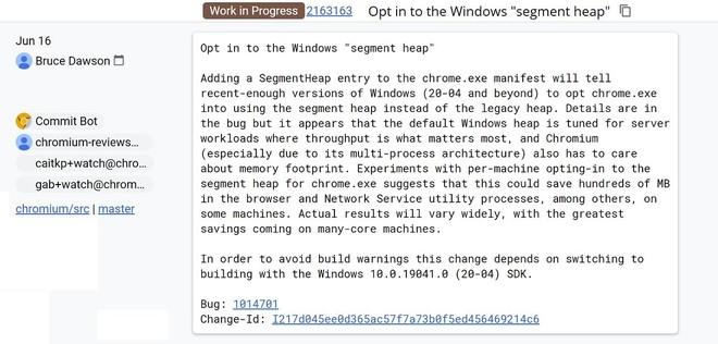 Google sẽ sử dụng một tính năng mới của Windows 10 để hạn chế việc Chrome ngốn RAM - Ảnh 2.