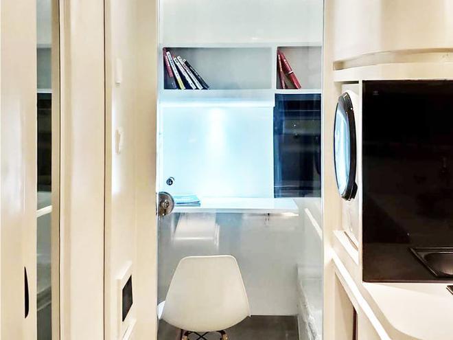 Ngôi nhà mini như bước ra từ phim viễn tưởng, gọn gàng nhưng đủ không gian cho gia đình 4 người - Ảnh 13.