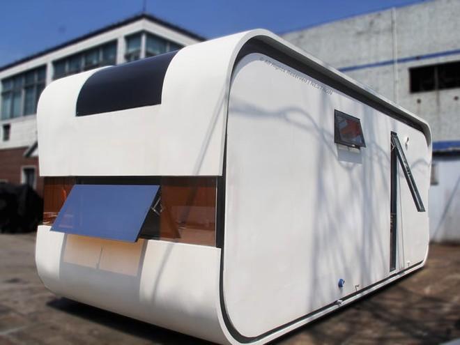 Ngôi nhà mini như bước ra từ phim viễn tưởng, gọn gàng nhưng đủ không gian cho gia đình 4 người - Ảnh 15.