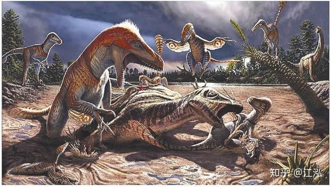 Các nghiên cứu phát hiện ra rằng những con thằn lằn cổ rắn thời tiền sử có khả năng lặn tương tự với cá nhà táng hiện đại - Ảnh 2.