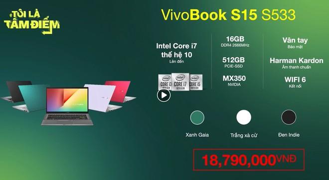 Asus Việt Nam giới thiệu thế hệ mới dòng laptop VivoBook S: thiết kế hiện đại, nhiều tùy chọn màu sắc - Ảnh 7.