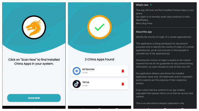 """Ứng dụng giúp tìm và diệt các ứng dụng """"Made in China"""" mới ra mắt đã rất hot trên Google Play Store - Ảnh 2."""