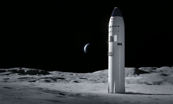 Elon Musk chuẩn bị xây bệ phóng tên lửa trên mặt nước, làm bàn đạp cho tàu Starship chở người xuyên lục địa, lên Mặt Trăng và đáp Sao Hỏa - Ảnh 2.
