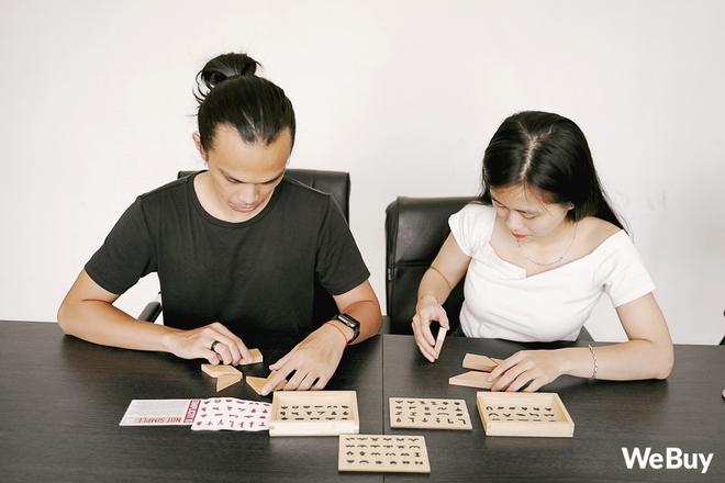 Lần đầu thử xếp hình Tangram phiên bản Made in Vietnam: Tưởng không khó mà khó không tưởng, thử thách IQ tới cực hạn - Ảnh 8.