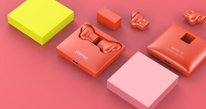 Yobybo Note 20: Tai nghe không dây mỏng nhất nhì thế giới, giá hơn 1 triệu nhưng chống nước, sạc không dây nhanh đủ cả - Ảnh 3.