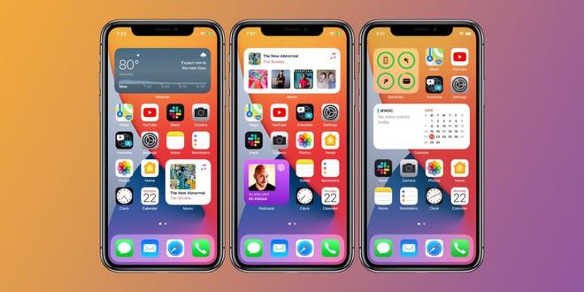 Tính năng widget mới của iOS 14 rất giống với Android - Ảnh 1.