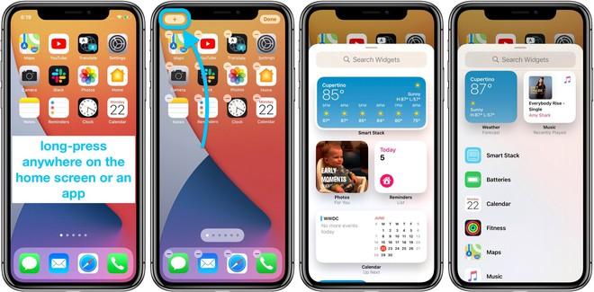 Tính năng widget mới của iOS 14 rất giống với Android - Ảnh 2.