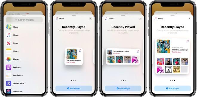Tính năng widget mới của iOS 14 rất giống với Android - Ảnh 3.