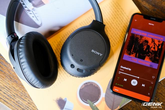 Cận cảnh bộ đôi tai nghe không dây mới của Sony: Một in-ear, một over-ear, mức giá dễ tiếp cận - Ảnh 8.