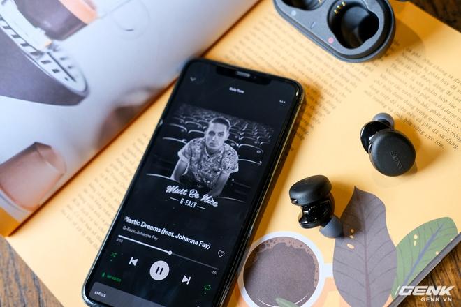 Cận cảnh bộ đôi tai nghe không dây mới của Sony: Một in-ear, một over-ear, mức giá dễ tiếp cận - Ảnh 14.
