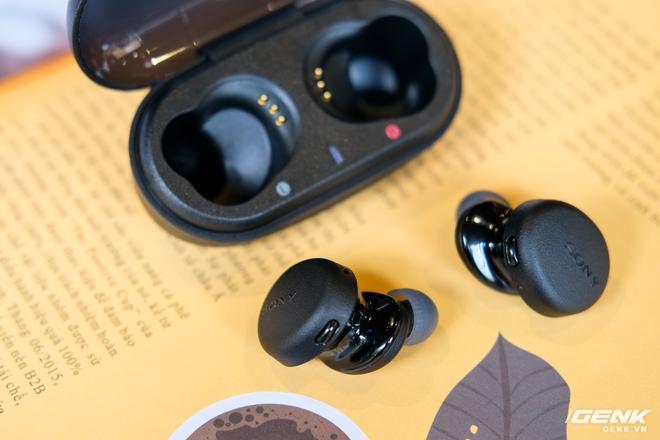 Cận cảnh bộ đôi tai nghe không dây mới của Sony: Một in-ear, một over-ear, mức giá dễ tiếp cận - Ảnh 12.