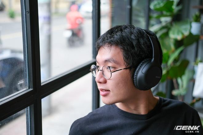 Cận cảnh bộ đôi tai nghe không dây mới của Sony: Một in-ear, một over-ear, mức giá dễ tiếp cận - Ảnh 3.