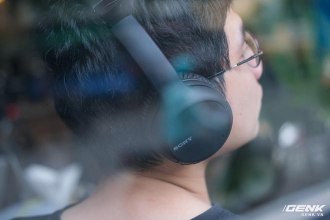 Cận cảnh bộ đôi tai nghe không dây mới của Sony: Một in-ear, một over-ear, mức giá dễ tiếp cận - Ảnh 7.