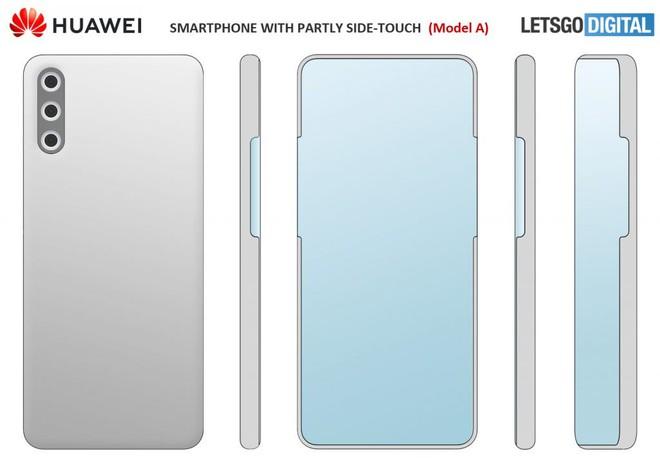 Huawei ấp ủ smartphone với camera selfie ẩn dưới màn hình, không phím vật lý - Ảnh 1.