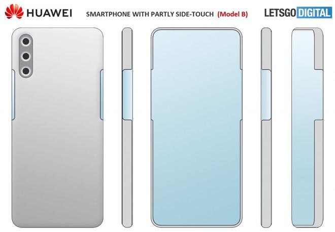 Huawei ấp ủ smartphone với camera selfie ẩn dưới màn hình, không phím vật lý - Ảnh 2.