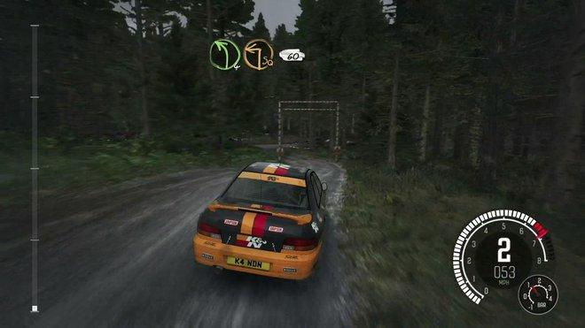 Tựa game TDirt: Rally ở mức thiết lập đồ họa thấp.