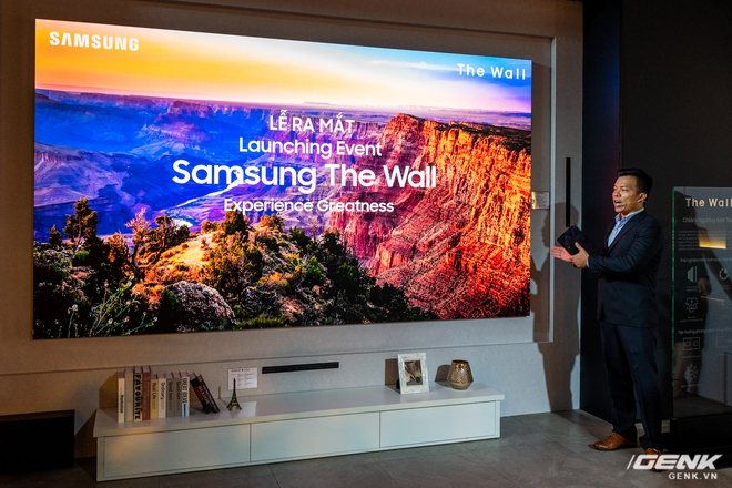 Cận cảnh TV Samsung The Wall mới: Sử dụng tấm nền MicroLED, tuổi thọ 100.000 giờ, không burn-in, kích thước lên đến 583 inch to như rạp chiếu phim cỡ lớn - Ảnh 3.
