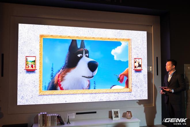 Cận cảnh TV Samsung The Wall mới: Sử dụng tấm nền MicroLED, tuổi thọ 100.000 giờ, không burn-in, kích thước lên đến 583 inch to như rạp chiếu phim cỡ lớn - Ảnh 8.