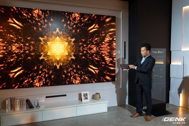 Cận cảnh TV Samsung The Wall mới: Sử dụng tấm nền MicroLED, tuổi thọ 100.000 giờ, không burn-in, kích thước lên đến 583 inch to như rạp chiếu phim cỡ lớn - Ảnh 6.