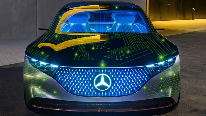 Mercedes hợp tác với Nvidia để thiết kế ô tô gừng càng già càng cay, càng đi lâu càng tự học được nhiều tính năng hay - Ảnh 1.