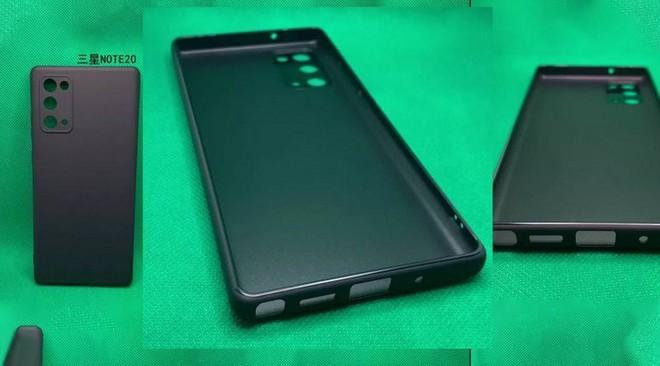 """""""Body"""" Galaxy Note 20 lộ diện thông qua tấm ảnh rò rỉ về ốp lưng của máy - Ảnh 2."""