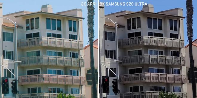 Camera chiến: So sánh smartphone quay video 8K với máy quay phim Hollywood chuyên nghiệp 10 năm tuổi - Ảnh 3.
