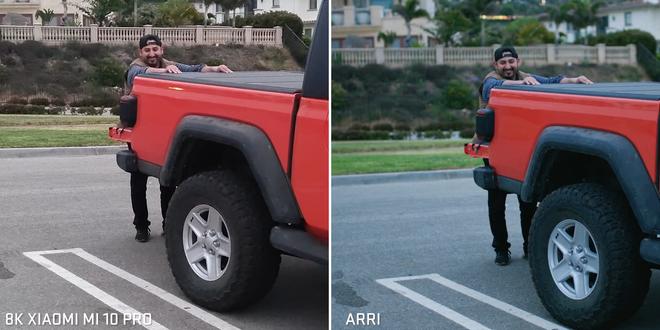 Camera chiến: So sánh smartphone quay video 8K với máy quay phim Hollywood chuyên nghiệp 10 năm tuổi - Ảnh 5.