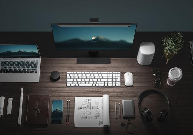 Xiaomi ra mắt đèn treo màn hình: Chỉ số hoàn màu cao, không bị lóa, điều khiển từ xa, giá 650.000 đồng - Ảnh 1.