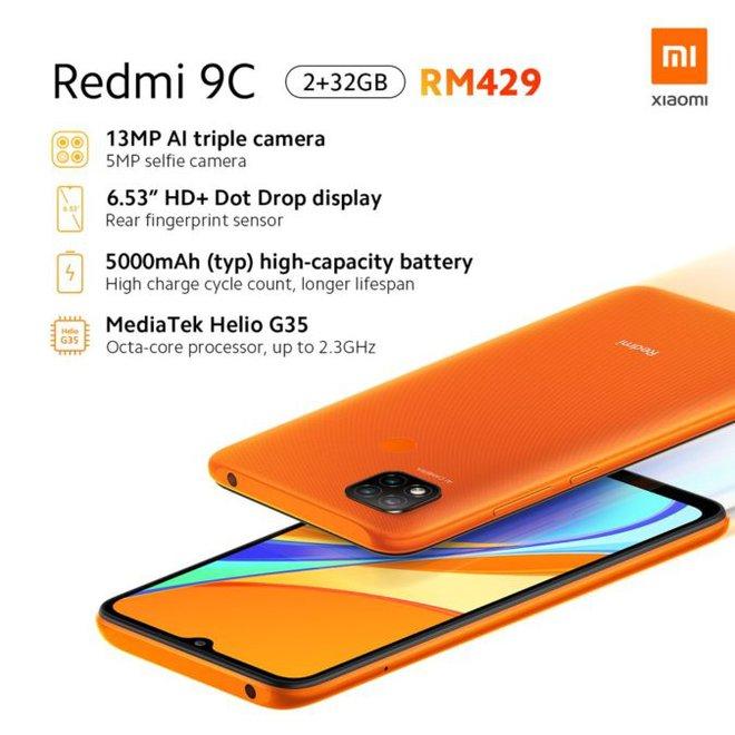 Xiaomi Redmi 9A và Redmi 9C ra mắt: Một tấn tính năng bên trong những chiếc smartphone giá 2 triệu đồng - Ảnh 4.
