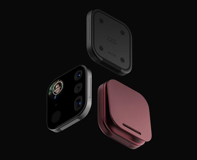 Concept iPhone điên rồ với cụm camera siêu to khổng lồ có thể tháo rời được - Ảnh 12.