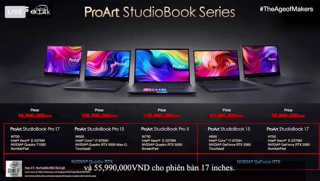ASUS chính thức đưa hai dòng laptop mới dành cho doanh nhân và sáng tạo nội dung về Việt Nam, có món giá chạm nóc 270 triệu đồng - Ảnh 9.