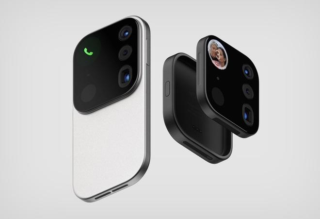 Concept iPhone điên rồ với cụm camera siêu to khổng lồ có thể tháo rời được - Ảnh 1.
