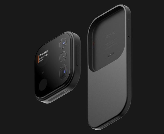 Concept iPhone điên rồ với cụm camera siêu to khổng lồ có thể tháo rời được - Ảnh 9.