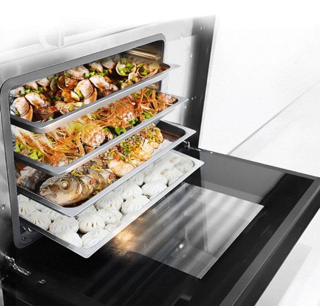 Xiaomi ra mắt bếp ga tích hợp lò nướng: Dung tích 66 lít, hút khói áp suất âm, giá 26 triệu đồng - Ảnh 2.