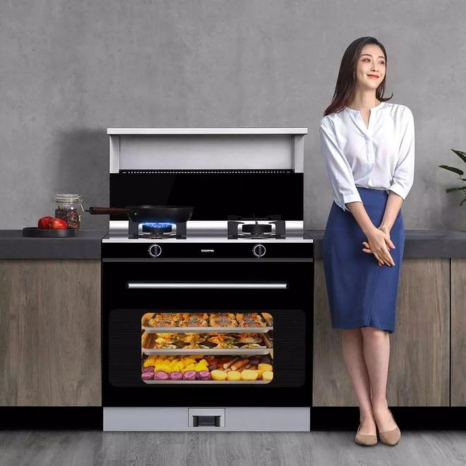 Xiaomi ra mắt bếp ga tích hợp lò nướng: Dung tích 66 lít, hút khói áp suất âm, giá 26 triệu đồng - Ảnh 1.