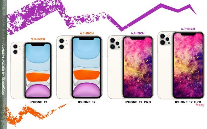 Bộ tứ iPhone 12 lộ cấu hình và giá bán - Ảnh 2.