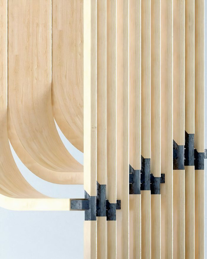 Trong con mắt của kiến trúc sư tài ba, cầu thang cũng có thể biến thành tác phẩm nghệ thuật như thế này đây - Ảnh 4.