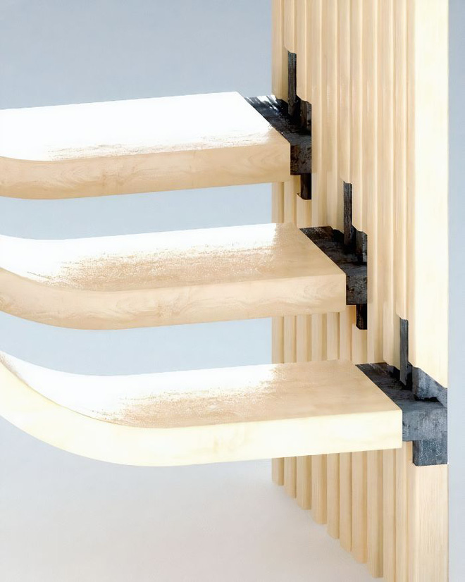 Trong con mắt của kiến trúc sư tài ba, cầu thang cũng có thể biến thành tác phẩm nghệ thuật như thế này đây - Ảnh 5.